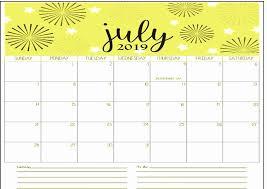 Blank Templates Free Calendar Page July 2019 60 Free July 2019 Calendar Printable