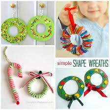 Christmas Wreath Craft Ideas For Kids  Crafty MorningChristmas Toddler Craft Ideas
