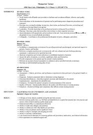 Med Surg Rn Resume Examples Resume Work Template