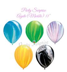 Qualatex Balloons Color Chart Agate Marble Balloons Blue Green Lavender Orange Black 11