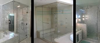 instantly upgrade your bathroom with a custom frameless glass shower doors enclosure