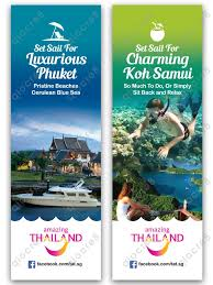 Tourism Banner Design Tourism Authority Of Thailand Design Of Tourism Banners