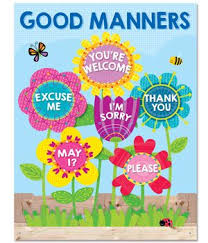 Good Manners Chart For Class 1 Good Manners Will Bloom All Over Your Classroom With The