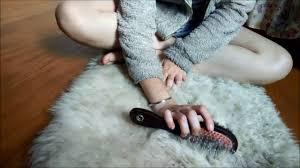 Sheep skin rug Layered Asmr Brushing Sheepskin Rug Etsy Asmr Brushing Sheepskin Rug Youtube