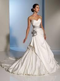 white silver wedding dress luxury brides