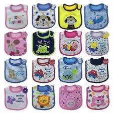 <b>5pcs</b> Baby Bibs Infant Saliva Towels <b>Cute Cartoon</b> Pattern Baby ...