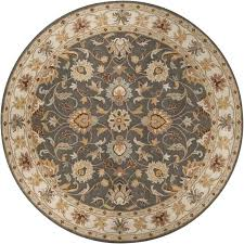 6 ft round area rugs artistic weavers john charcoal gray 6 ft x 6 ft round 6 ft round area rugs