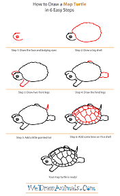 Small Picture How to Draw a Map Turtle