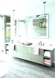 large wall mirror frameless beveled bathroom mirrors chic edge extra