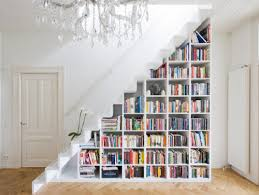 Staircase bookshelf eclectic-staircase