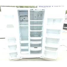 ge profile arctica refrigerator. Ge Profile Arctica Refrigerator Cu Ft Side By White Problems Temperature