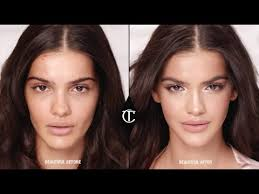 get the victoria s secret model look makeup tutorial charlotte tilbury