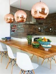 Copper Pendant Light Kitchen Kitchen Pendant Lighting Pinterest Kitchen Island Decorating