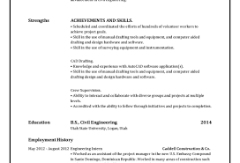 Create New Resume Free Resume Template