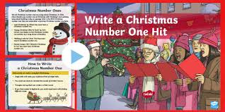 Ks2 Writing A Christmas Number One Hit Powerpoint