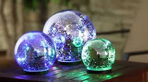 silver color changing mercury glass globes 845009 from evergreen garden