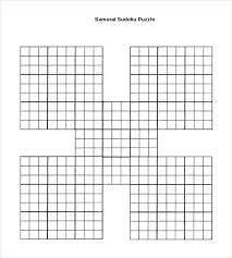 Printable Sudoku Template Threeroses Us
