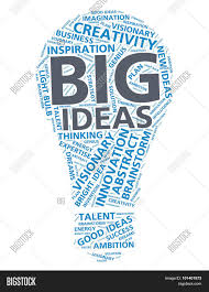 Light Bulb Word Art Word Cloud Big Ideas Image Photo Free Trial Bigstock