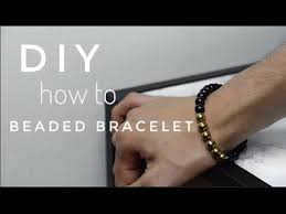 how to make men s beaded bracelet diy