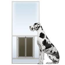sliding glass dog door glass series