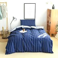 navy colored bedding blue