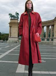 long leather coat leather trench coat red leather leather jackets oversized coat