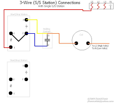 motor connections dual start stop station diagram this is how to connect 2 s s stations to a single mag starter the start buttons are in parallel stop buttons in series