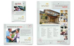 Real Estate Agent & Realtor Flyer & Ad Template - Word & Publisher