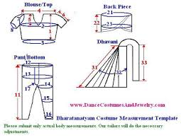 Costume Measurement Sheet Template Non Traditional Style Dance Costume Attach Photo For Sample