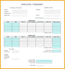 Employee Time Card Calculator Time Card Calculator With Lunch Break And Schedule Template
