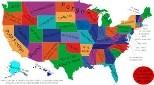 what s the best movie set in your state this map will tell you click