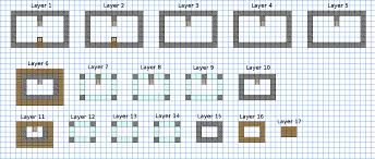 Small Picture Small modern house minecraft schematic