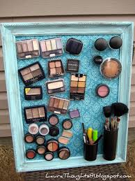 diy makeup organizing ideas make up magnet board projects for makeup drawer