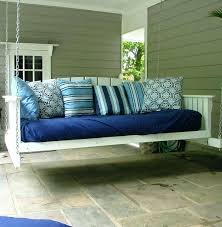 Porch Swing With Cushions Outdoor Porch Swing Cushions Wicker