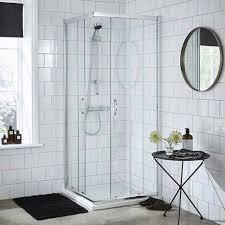 ella corner entry shower enclosure various size options enclosure only