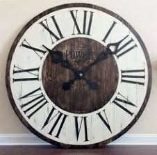 large office wall clocks. Modren Clocks Giant Wall Clock Large Office Art Entryway Decor Statement  Rustic Furniture And Country Farmhouse Kitchen Decor Intended Large Office Wall Clocks O