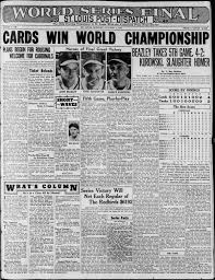 70 defining sports moments from the pages of the Post-Dispatch archives    Sports