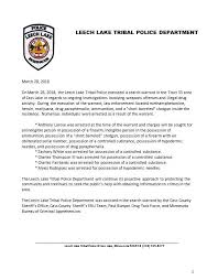 5 arrested in execution of search warrant in Cass Lake - Red Lake Nation  News