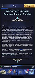 Final Fantasy Xv A New Empire New Features And Updates