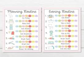 Printables Weekly 7 Day Young Child Toddler Girls Chore