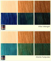 Manic Panic Blue Color Chart Faq For Manic Panic Hair Coloring Products