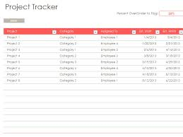 Excel Template For Project Tracking Multiple Project Management Tracking Templates Excelide