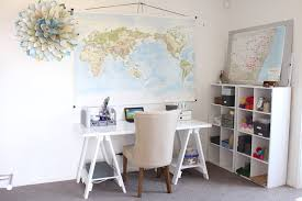 home office organisation. Beautiful Sawhorse Desk Method Other Metro Eclectic Home Office Decorators With Homework Station Map Organisation