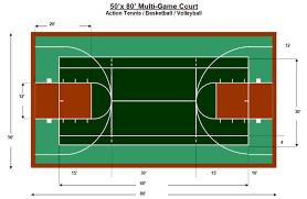 sport court dimensions. Contemporary Dimensions Sport Court Dimensions  Multi Sport Court Dimensions  Measurements And Pinterest