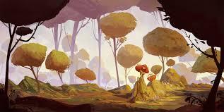 Hình nền : bức vẽ, rừng, hình minh họa, hoạt hình, Truyện cổ tích, Bức  tranh tường, NGHỆ THUẬT, hoa, nghệ thuật hiện đại, Vẫn còn sống, Sơn  acrylic, 1920x964 px 1920x964 -