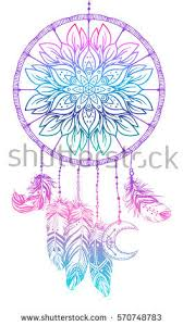 What Native American Tribes Use Dream Catchers Hand Drawn Native American Indian Talisman Stock Vector 100 16