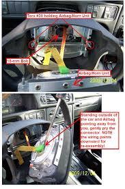 diy 1998 volvo v70 clockspring airbag horn contact unit 98 volvo clockspring 03 jpg