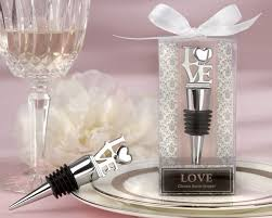 love chrome bottle stopper my wedding favors