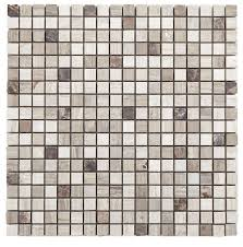 Mocha (Milan) Mocha Marble Mosaic Tile, - B&Q for all your home and garden  supplies and advice on all the latest DIY trends