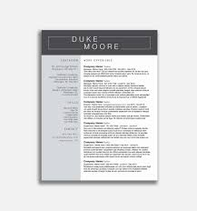 Photoshop Resume Template Free Professional Ad Template Free